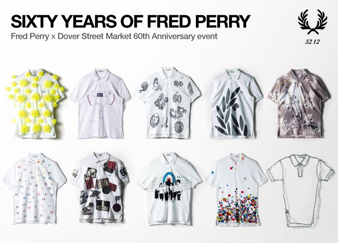 Fred Perry 60th Anniversary